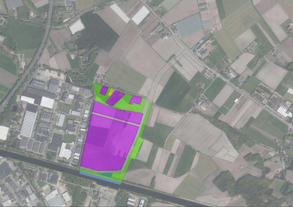 Uitbreiding modern bedrijventerrein Everdenberg-Oost.